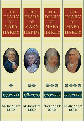 9780957336049: The Diary of Mary Hardy 1773-1809: The Four-Volume Set Diary 1,2,3,4