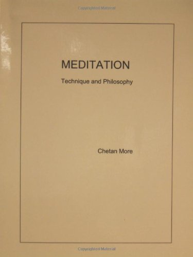 9780957352407: Meditation: Technique and Philosophy