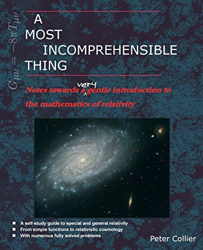 9780957389458: A Most Incomprehensible Thing: Notes Towards a Very Gentle Introduction to the Mathematics of Relativity