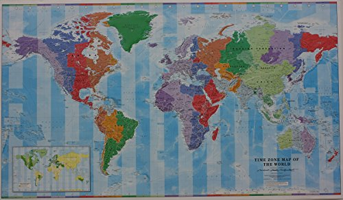 9780957447202: Time Zone Map of the World