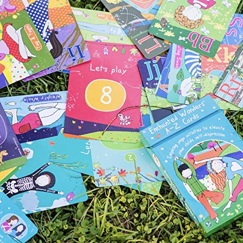 9780957453470: Enchanted Wonders A-Z Cards: Inspiring Yoga Activities to Elevate Your Child's Self-Expression