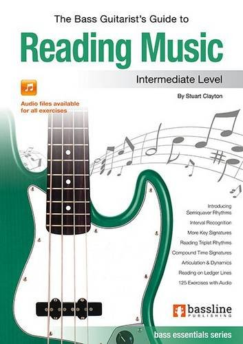 9780957485907: The Bass Guitarist's Guide to Reading Music: Intermediate