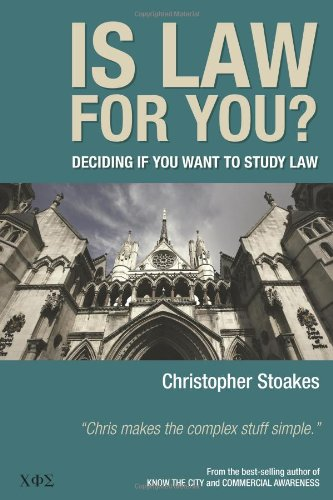 Is Law for You?: Stoakes, Christopher