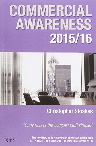 9780957494640: Commercial Awareness 2015/16