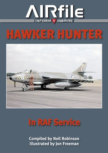 9780957551329: Hawker Hunter in RAF Service: 1955 to 1990 (AIRfile)