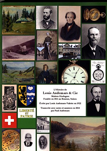 9780957559622: L'histoire de Louis Audemars & Cie