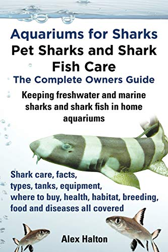 9780957697805: Aquariums for Sharks. Keeping Aquarium Sharks and Shark Fish. Shark Care, Tanks, Species, Health, Food, Equipment, Breeding, Freshwater and Marine All