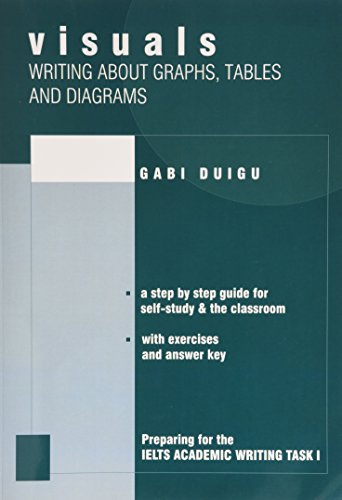 9780957899605: Visuals: Writing About Graphs Tables and Diagrams preparing for IELTS Academic Writing Task 1