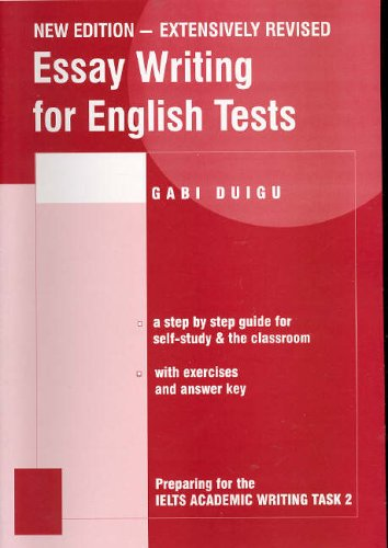 9780957899612: Essay Writing for English Tests