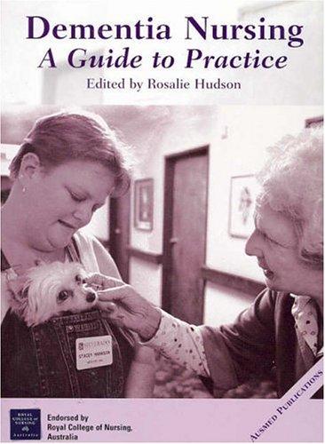 9780957987654: Dementia Nursing: A Guide to Practice
