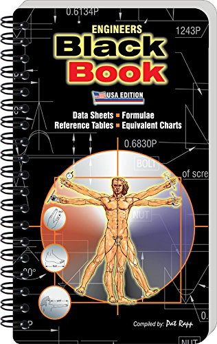 9780958057127: Engineers Black Book (Data Sheets, Formulae, Reference Tables, Equivalent Charts) by Pat Rapp (2008-11-06)