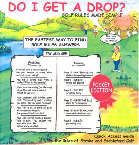 9780958064415: Do I Get a Drop?: Golf Rules Made Simple
