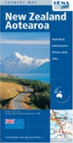New Zealand Country Map by Hema: Hema Maps