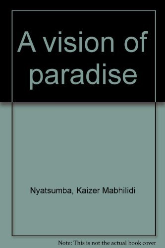 9780958306492: A vision of paradise