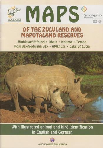 9780958474870: Maps of the Zululand and Maputaland Reserves