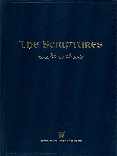 9780958504577: The Scriptures (Large Print Edition)