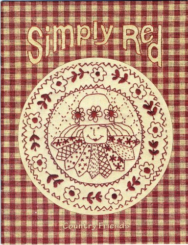 9780958571135: Simply Red: A Collection Of Stitcheries