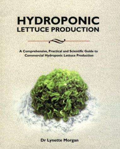 9780958673525: Hydroponic Lettuce Production