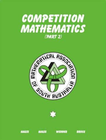 9780958695145: Competition Mathematics: Part 2
