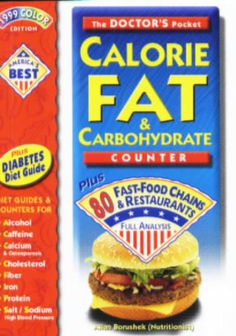9780958799195: Doctor's Pocket Calorie Fat & Carbohydrate Counter