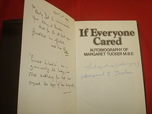 9780959262209: If Everyone Cared: Autobiography of Margaret Tucker, M.B.E.