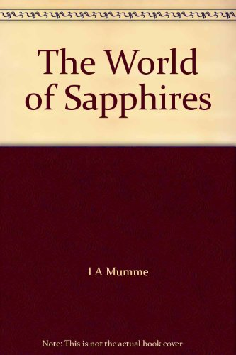 9780959306910: The World of Sapphires