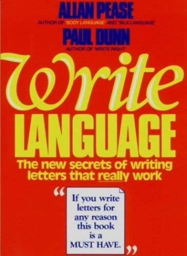9780959365832: Write Language : the New Secrets of Writing Letters That Really Work