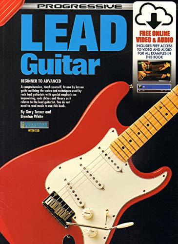9780959540468: Lead Guitar Bk/CD: For Beginner to Advanced Students: CD Pack (Progressive)