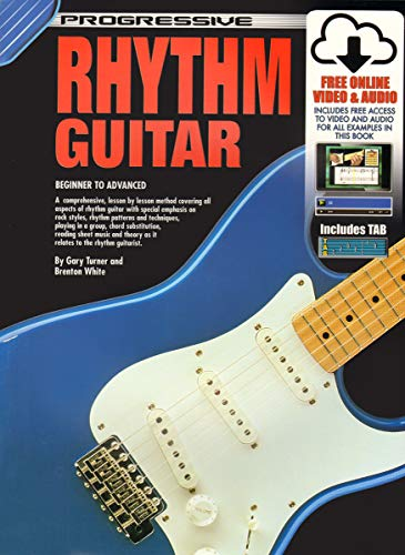 CP54047 - Progressive Rhythm Guitar - Book/CD/DVD: Brenton White, Gary