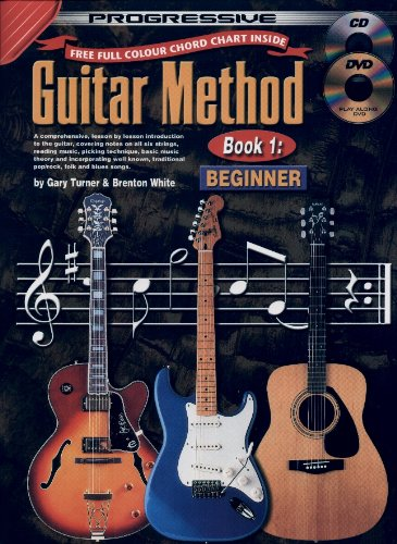 9780959540482: Guitar Method Book 1 Bk/CD/DVD [With CD/DVD]: Book 1 / CD Pack (Progressive)