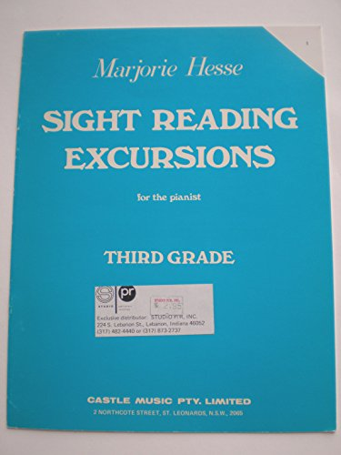 9780959881448: MARJORIE HESSE SIGHT READING EXCURSIONS FOR THE PIANIST THIRD GRADE