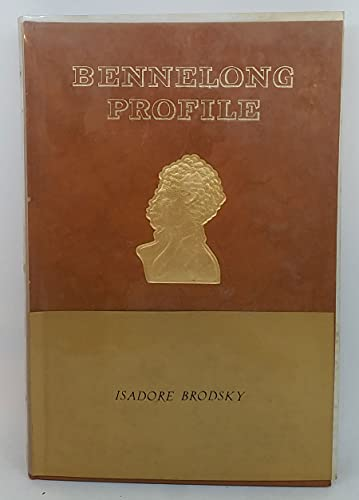 Bennelong Profile. Dreamtime Reveries of a Native of Sydney Cove.: Isador Brodsky.