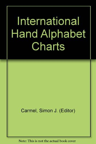 9780960088614: International hand alphabet charts