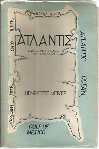9780960095230: Atlantis, Dwelling Place of the Gods