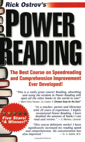 9780960170616: Power Reading: The Best, Fastest, Easiest, Most Effective Course On Speedreading and Comprehension Ever Developed!