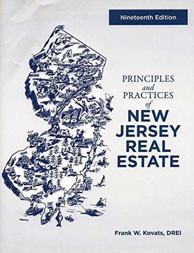 9780960198610: Principles and Practices of New Jersey Real Estate (19th Edition)