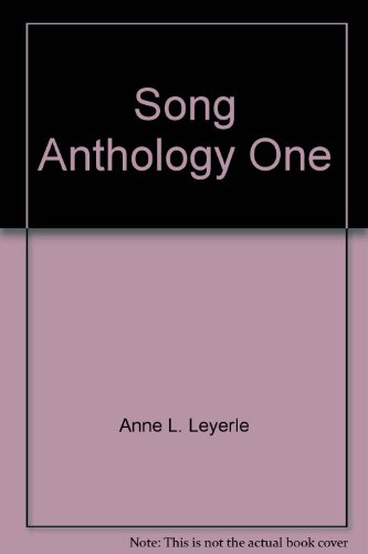 Song Anthology One