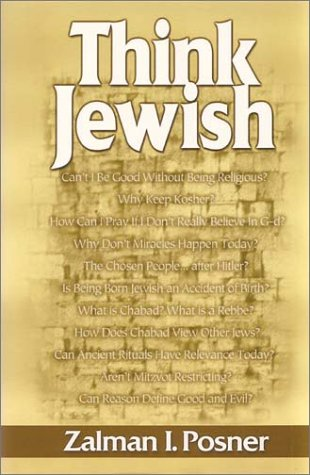 9780960239405: Think Jewish: A Contemporary View of Judaism, a Jewish View of Today's World