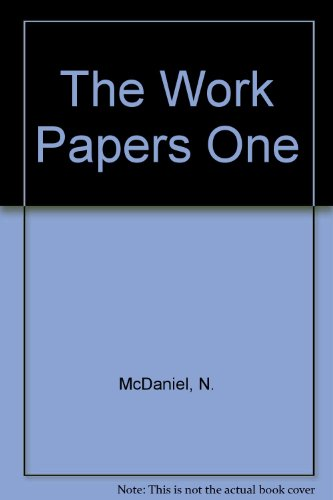 9780960294275: The Work Papers One