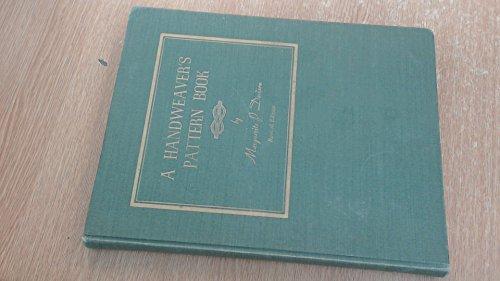 9780960317202: A Handweaver's Pattern Book