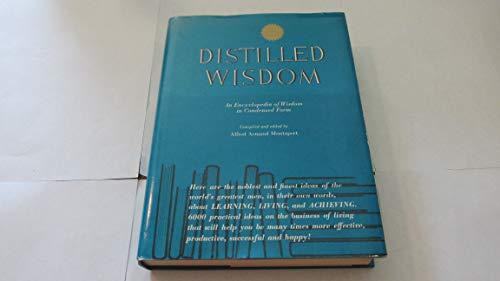 9780960317400: Distilled Wisdom