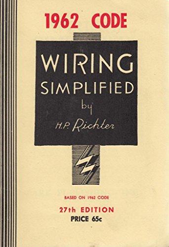9780960329410 wiring simplified abebooks h p richter 0960329412 rh abebooks com Easy Wiring Diagrams Basic Headlight Wiring Diagram