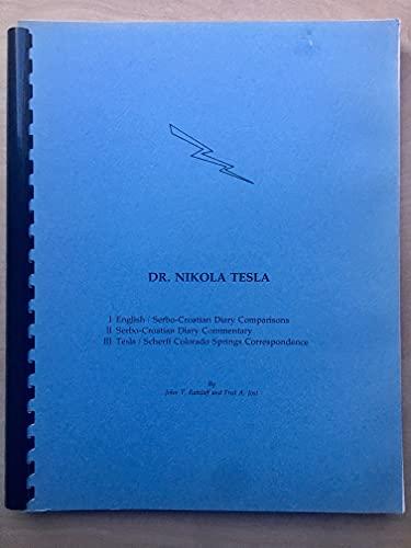 9780960353606: Nikola Tesla Colorado Springs Notes 1899 1900