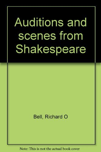 9780960362608: Auditions and scenes from Shakespeare