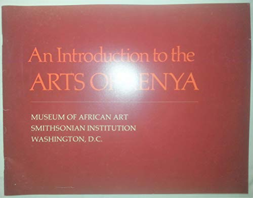 An Introduction to the Arts Of Kenya
