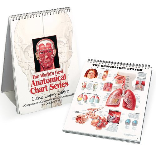 9780960373031: The World's Best Anatomical Chart Series: A Comprehensive Collection of 48 Classic Anatomical Charts in a Desk Size Version