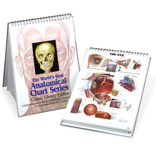 9780960373048: The World's Best Anatomical Chart Series: A Comprehensive Collection of 48 Classic Anatomical Charts In a Desk Size Version [Classic Library Edition]