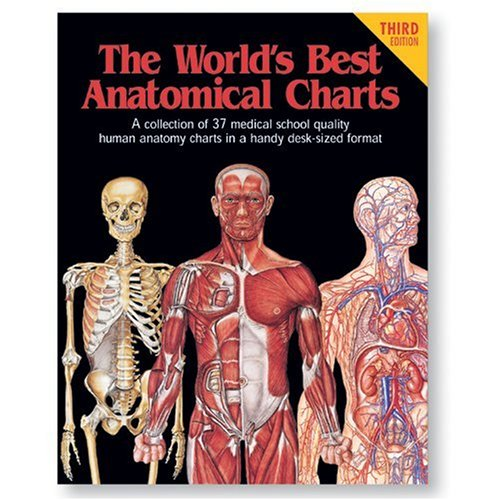 9780960373055: The World's Best Anatomical Charts (World's Best Anatomical Chart Series)