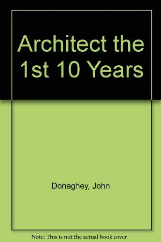 9780960429806: An Architect - the first ten years