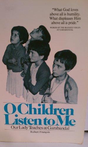 9780960431014: O children listen to me (Prov. 8:32)